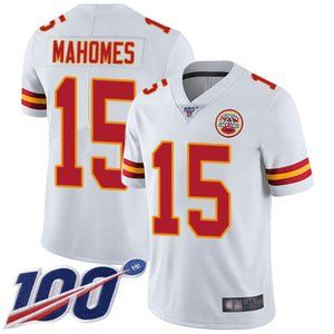 Chiefs Patrick Mahomes 100th Season Jersey